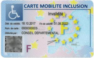 comment obtenir une carte d invalidité pour le stationnement La carte mobilité inclusion (CMI) | Enfant Différent