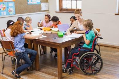 élèves handicap classe de découverte