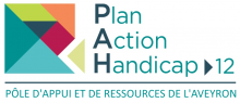 logo du dispositif plan action handicap aveyron